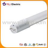 tubo de la luz LED del tubo 110lm/W del tubo 588*26m m de 9W TUV T8 LED