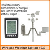 RF automático 433MHz Home Weather Station con Temperature Trend Clock