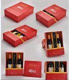 OEMの高品質の堅いボール紙のワインボックス/Wineのギフト用の箱