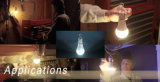 plástico 5With7With9W + bulbo de aluminio de la emergencia LED