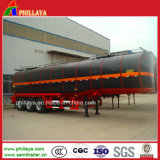 D'asphalte de réservoir de transport camion-citerne Heated de bitume de remorque semi