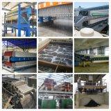 Equipamento de filtração de desidratação de lodo com sistema de lavagem automática