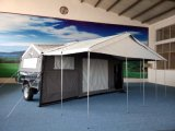 عائليّ مخيّم خيمة [كمبر تريلر] خيمة