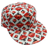 Gorra de béisbol floral de la tela con el Snapback Sb1581