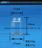 Опарник варенья опарника Hexgonal стеклянный с крышкой доказательства утечки