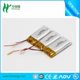 Batterie de polymère de lithium du fournisseur 100mAh 3.7V de la Chine