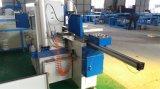 Alumínio e perfis do PVC queMmoem a máquina