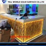 Contador por encargo de la barra del lustre LED de la alta calidad alto para la venta