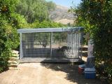 Cerco galvanizado durável ao ar livre da fábrica grande para cães