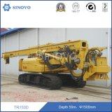 Empilage rotatoire initial du tracteur à chenilles TR150D/plate-forme de forage
