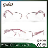 Het populaire Oogglas Eyewear 91808 van het Frame van de Glazen van het Metaal Optische