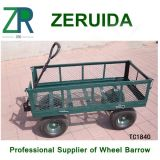 Chariot d'outil de jardin de chariot de maille de jardin