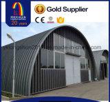 아치 지붕 기계를 형성하는 기계에 의하여 이용되는 금속 지붕 위원회 롤