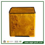 Коробка сигары хранения лидирующего кедра деревянная с ящиком подноса