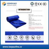 Tessuto sottoposto agli UV della tela incatramata del PVC di concentrazione ad alta resistenza, coperchio del raggruppamento