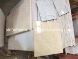 Mattonelle di pavimentazione di marmo Polished naturali di Crema Marfil del grado superiore 30X30