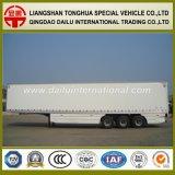 3 Axles Van Type Composite Raad/Comité Geïsoleerdeb Semi Aanhangwagen