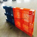 Pálete plástica resistente da oficina da fábrica para o empacotamento de transporte da cerveja