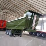 緑色のHyvaの水圧シリンダセミトレーラーをダンプする80トン