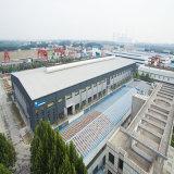 Edificio de la estructura de acero de la estación de tren del metro