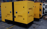 generador diesel silencioso estupendo 200kVA con el motor 1306c-E87tag3 de Perkins con la aprobación de Ce/CIQ/Soncap/ISO