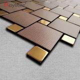 Стена Royllent металлическая кроет нутряной домашний цвет черепицей кофеего мозаики украшения