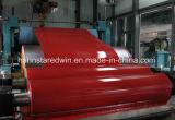 Bobine en acier enduite par couleur à haute teneur, PPGI