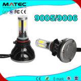 색깔 관 H7 H11 9005 9006를 가진 다색 자동차 부속 LED 맨 위 가벼운 램프 H11 LED 헤드라이트