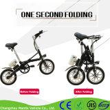 Vélo électrique de mini pliage de roues de la batterie au lithium deux