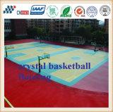 Фабрика Китая напольной резиновый баскетбольной площадки настила