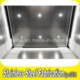 Painel decorativo da luz de teto do elevador do aço inoxidável gravura a água-forte
