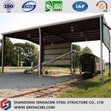 Costruzione commerciale della struttura d'acciaio per il baldacchino della ferrovia