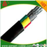 300/500V pvc isoleerde Vlakke Kabel met de Kern van het Aluminium en de Schede van pvc