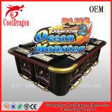 海洋王2plusの賭ける釣か魚のハンタースロットゲーム・マシン