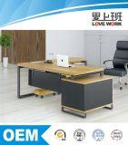 Eichen-Executivdirektionsbüro-Schreibtisch
