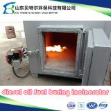 100kgs/Time de dierlijke Verbrandingsoven van het Lijk, Verbrandingsoven Op hoge temperatuur