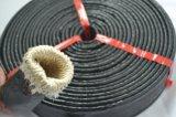Feuer-Beweis-silikonumhüllte Glasfaser-hitzebeständige Schlauch-Hülse hergestellt in China