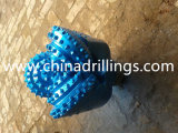 De '' bits Tricone TCI IADC537 16 usados para a perfuração do hard rock
