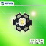 PC al aire libre Lens Peanut Lens LED de Lighting High Brightness 130-140lm 1W