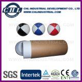 Zachte het Jongleren met van het Leer van pvc van 6.3cm Bal die met Plastic Bonen wordt gevuld