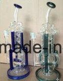 Glaspfeife mit Wasser-Recycler - hohe Qualitätsgroßverkauf