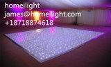 12*12FT LEDのダンス・フロアの段階ライト結婚披露宴のオートショーのための白黒Starlitダンス・フロア