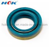 Blue NBR Rubber Oil Seal with Spring