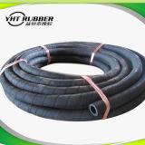 Le boyau en caoutchouc hydraulique flexible à haute résistance avec le fil a tressé