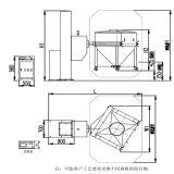 Chinesischer pharmazeutischer Maschinerie-Hersteller-anhebende Stauraum-Mischvorrichtung (HLT-1200)