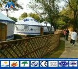 Modernes Yurt Zelt für im Freienaktivität