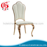 椅子を食事する宴会の家具のローズの金ステンレス鋼