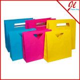 Sacos de papel impressos do presente dos sacos de compra dos testes padrões