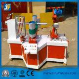 Máquina de enrollamiento de papel convoluta espiral automática de la base del tubo con en la línea cortatubos