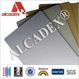 4mm PVDF Silver Color Aluminum Laminating Composite Panels